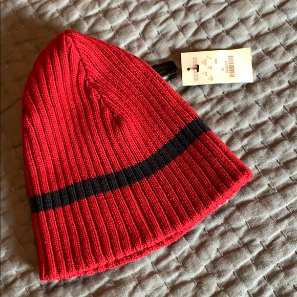Express Accessories - Express Reversible Beanie Hat